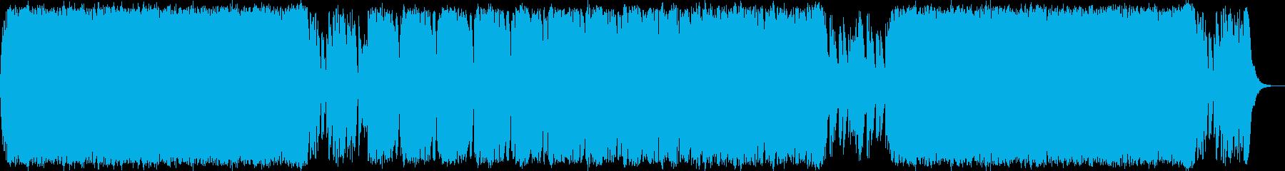 悪が支配するエレクトロオーケストラマーチの再生済みの波形