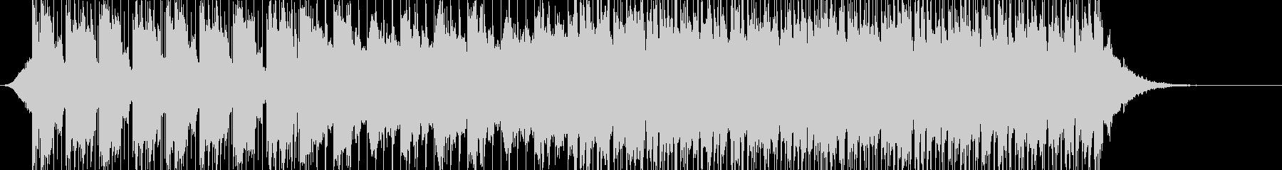 切ないメロディのポップスの未再生の波形