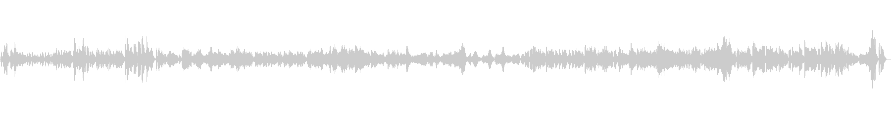 優雅なタンゴ/フルート多重録音の未再生の波形