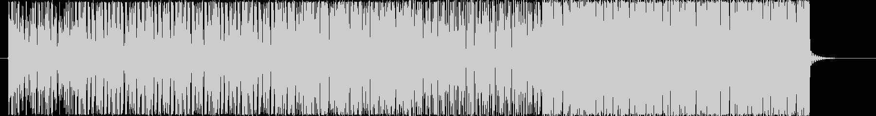 無機質な空間 BGMの未再生の波形