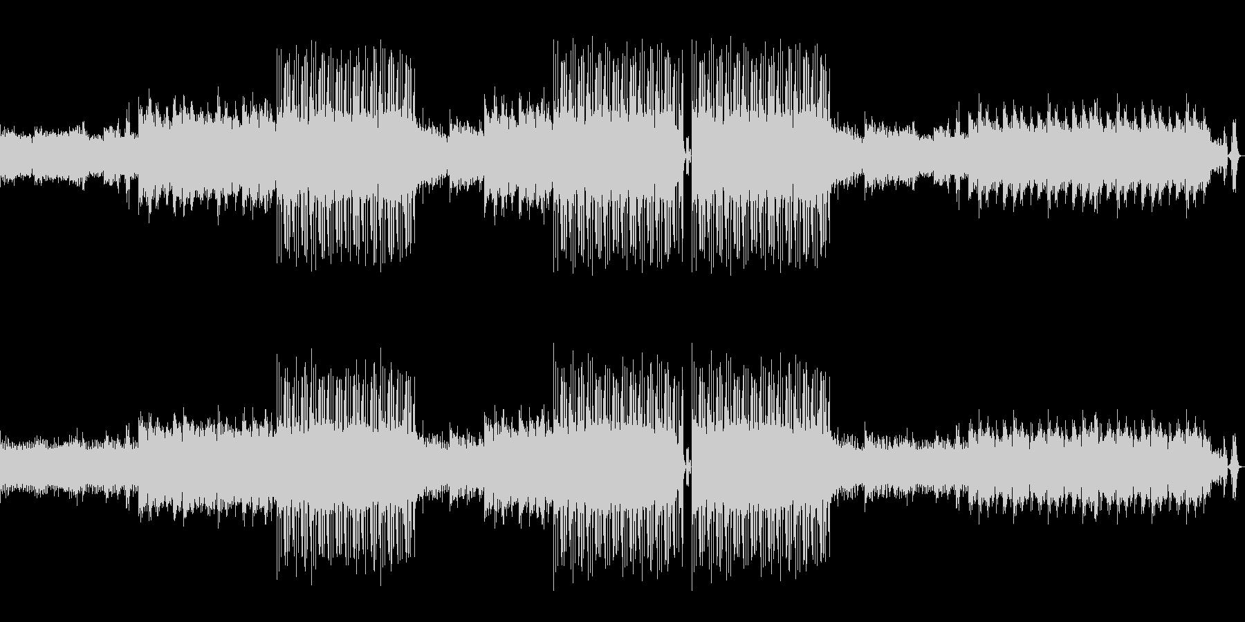 オシャレなラウンジBGMの未再生の波形