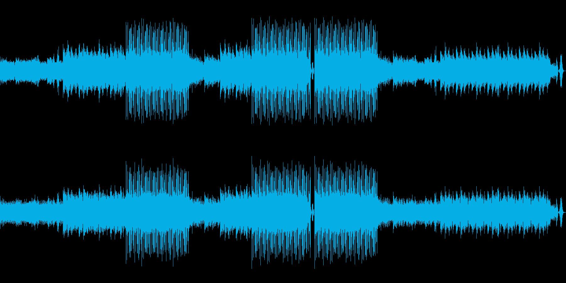 オシャレなラウンジBGMの再生済みの波形