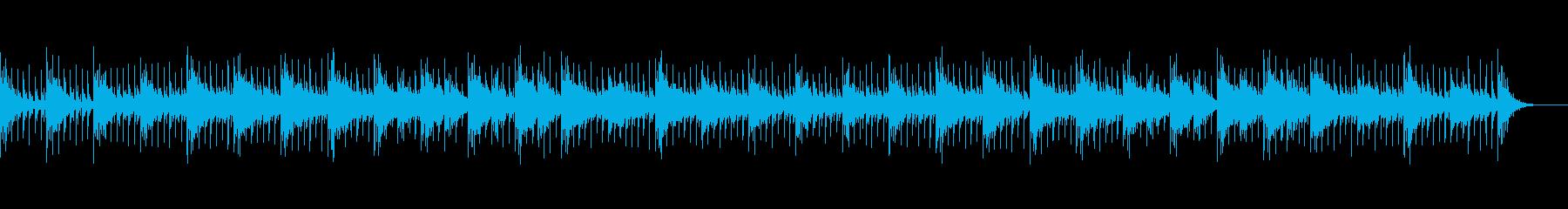思考的な落ち着いた電子音楽-Aの再生済みの波形