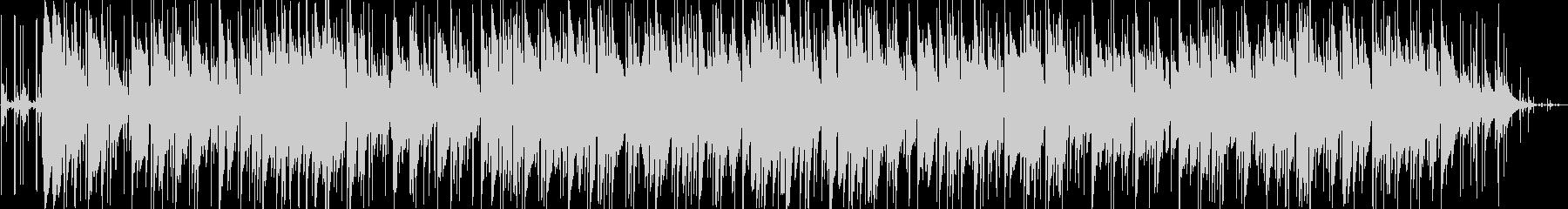 おしゃれなリラクゼーションミュージックの未再生の波形