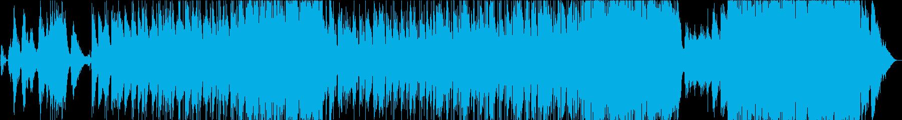 Briseの再生済みの波形