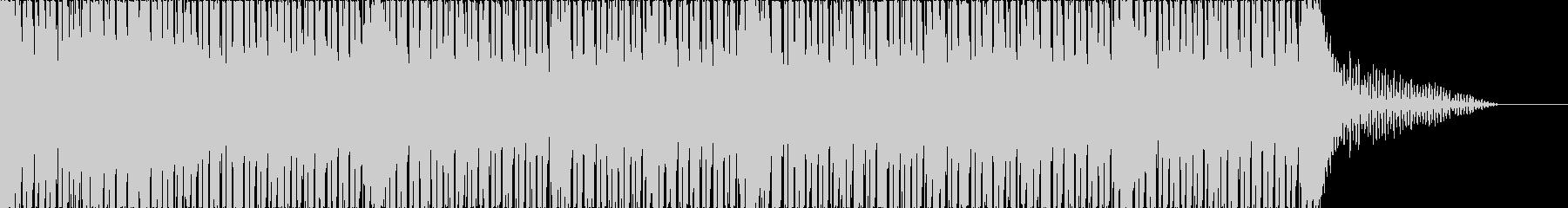 エレクトロ、お洒落、近未来、BGM、2の未再生の波形