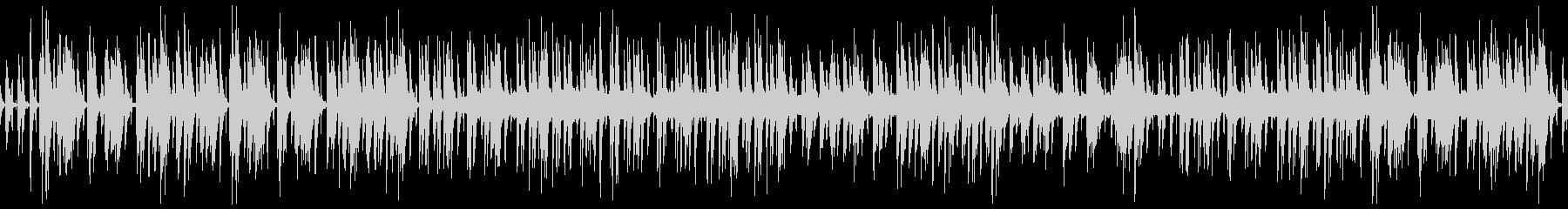 ハワイアン風ほのぼのウクレレのゆるい曲の未再生の波形