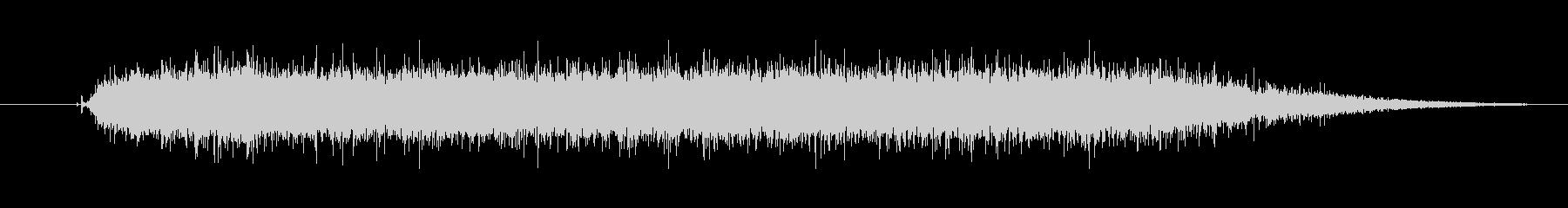 工具_ドリルの動作音2の未再生の波形
