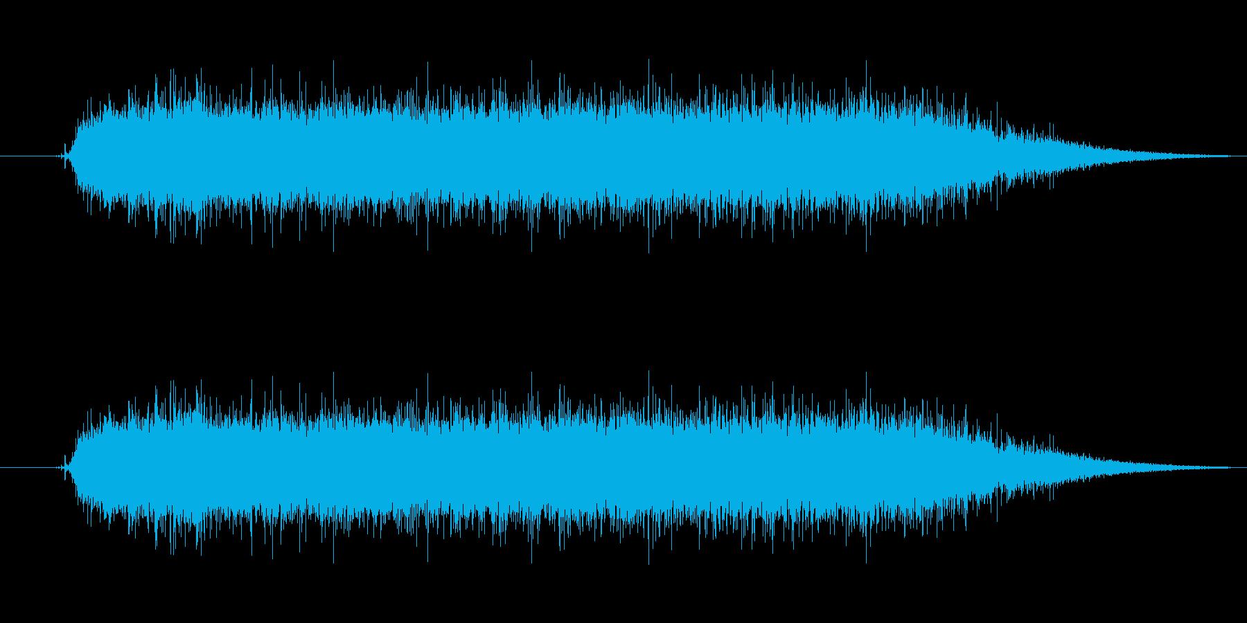 工具_ドリルの動作音2の再生済みの波形