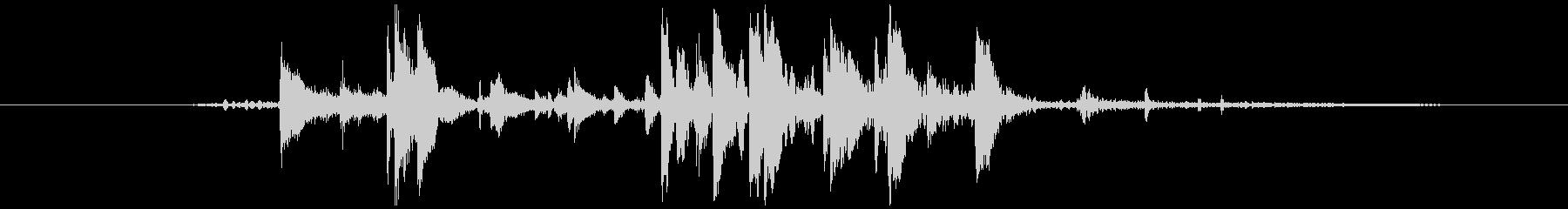 キーホルダーなど (チャリッ)の未再生の波形