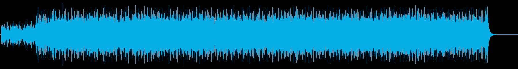 ドキュメント向けチューブラー・ベルの再生済みの波形