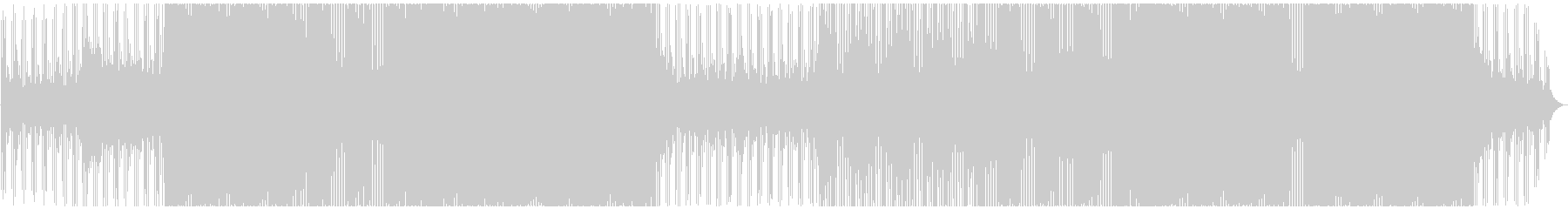 クラブ/ハードハウス/ハードテクノの未再生の波形