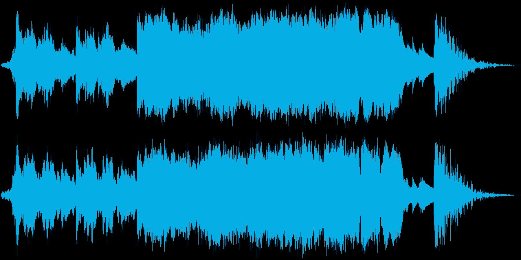 30秒CM吹奏楽+ピアノジングルの再生済みの波形