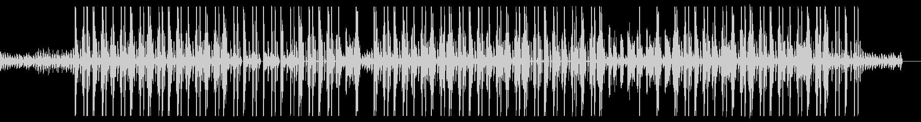 ローファイな王宮風ヒップホップビートの未再生の波形