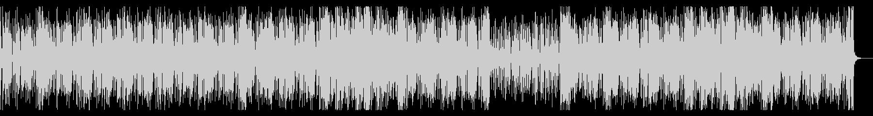 80年代テイストあふれるファンクR&B2の未再生の波形