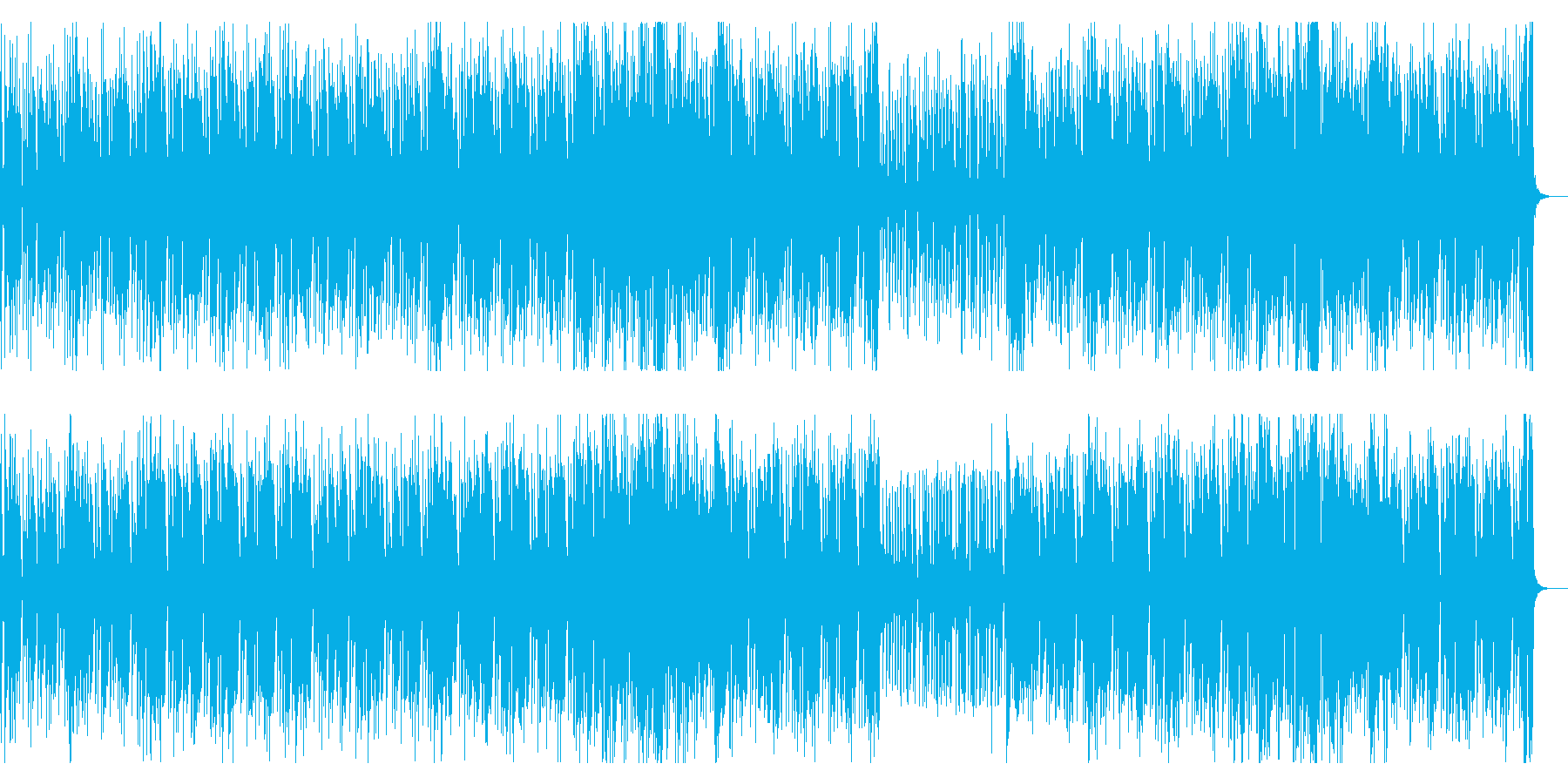 80年代テイストあふれるファンクR&B2の再生済みの波形