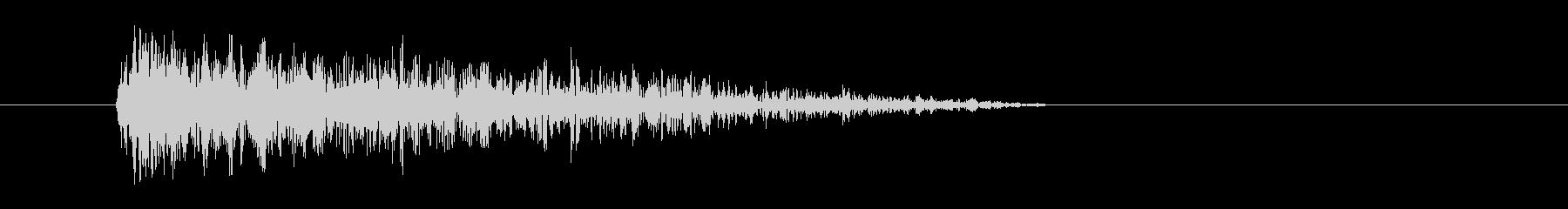 レーザー音-36-3の未再生の波形