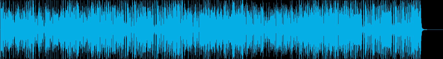 ブラス主体のファンキーなブルースの再生済みの波形