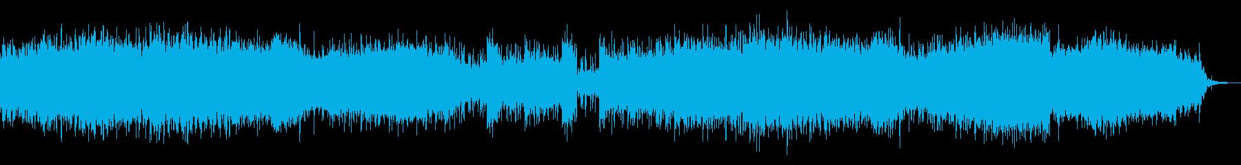 インダストリアルなテクスチャの再生済みの波形