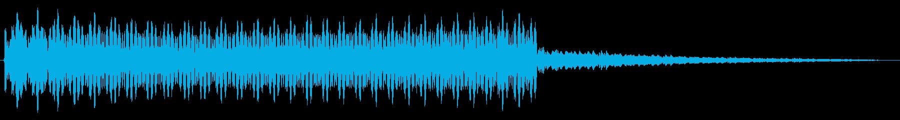 ピューン、ウィーン(メーター上昇音)3の再生済みの波形