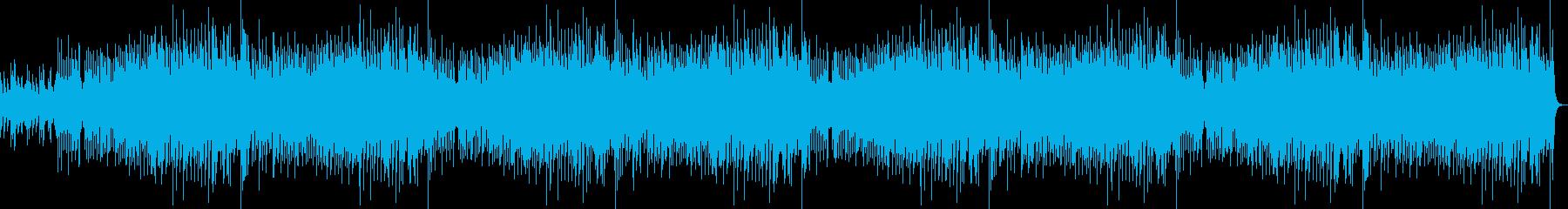 ピアノ中心の心あたたまるBGM10分の再生済みの波形