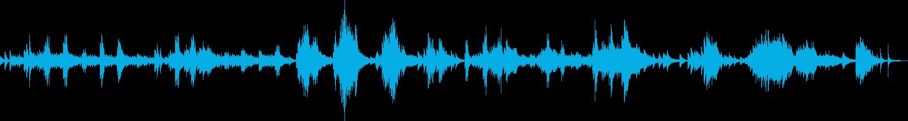 別れ(ピアノバラード・悲しい・しっとり)の再生済みの波形