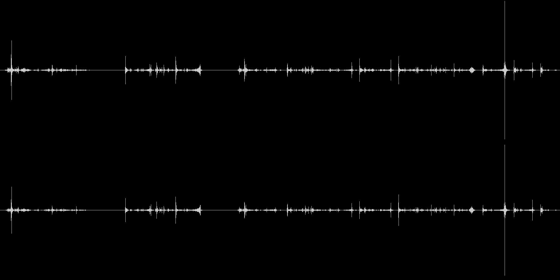 紙 トランプハンドル04の未再生の波形