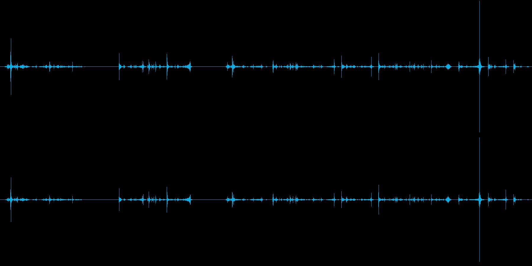 紙 トランプハンドル04の再生済みの波形