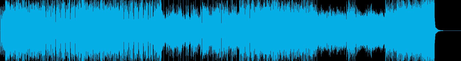 「HR/HM」「激しい」BGM47の再生済みの波形