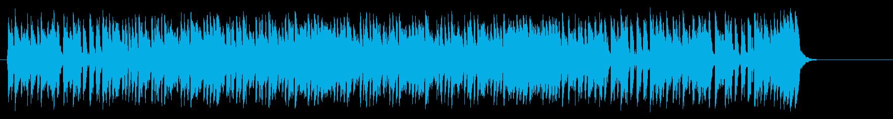 夏のフュージョンポップ(イントロ~サ…)の再生済みの波形