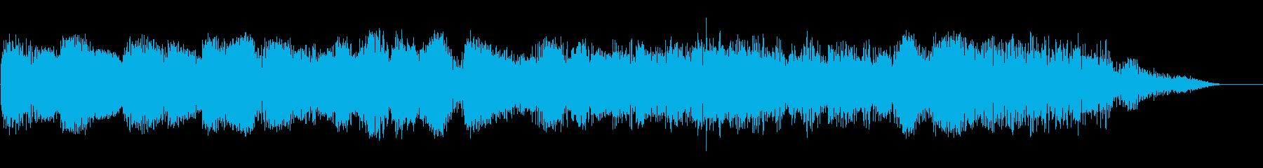 ゴーーッ(異空間ノイズ、飛行機の音)の再生済みの波形