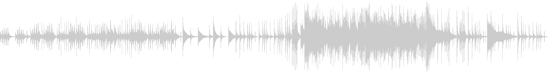 中国伝統楽器を使ったBGM【ループ】の未再生の波形