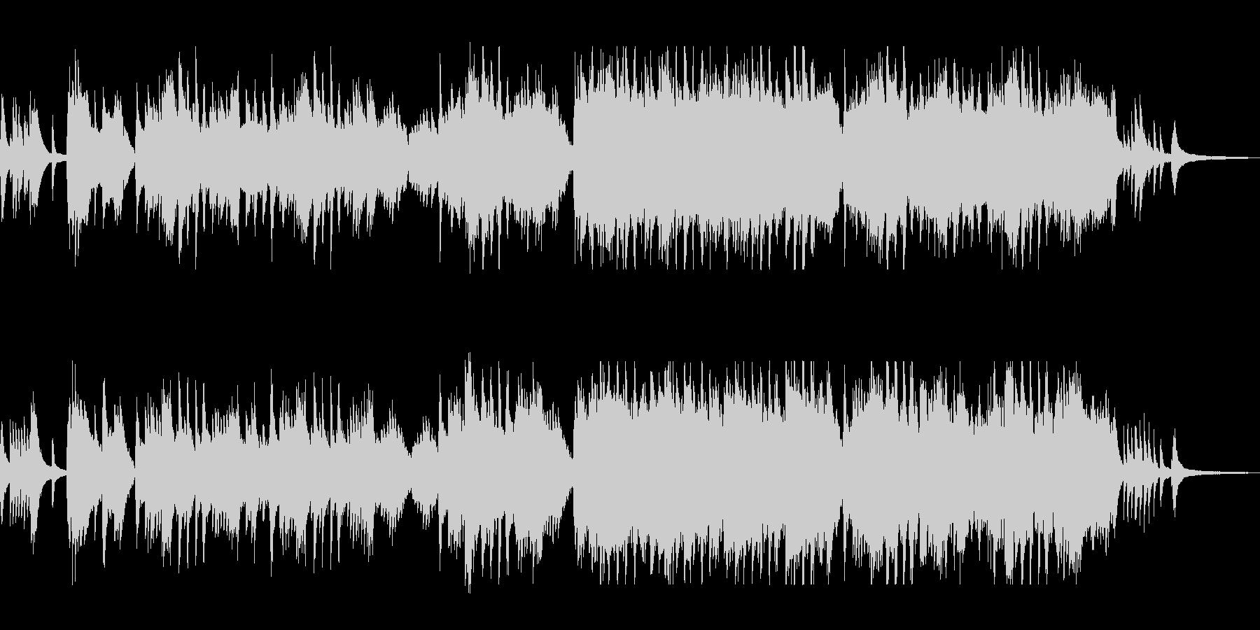 華麗でクラシカルなピアノバラードの未再生の波形