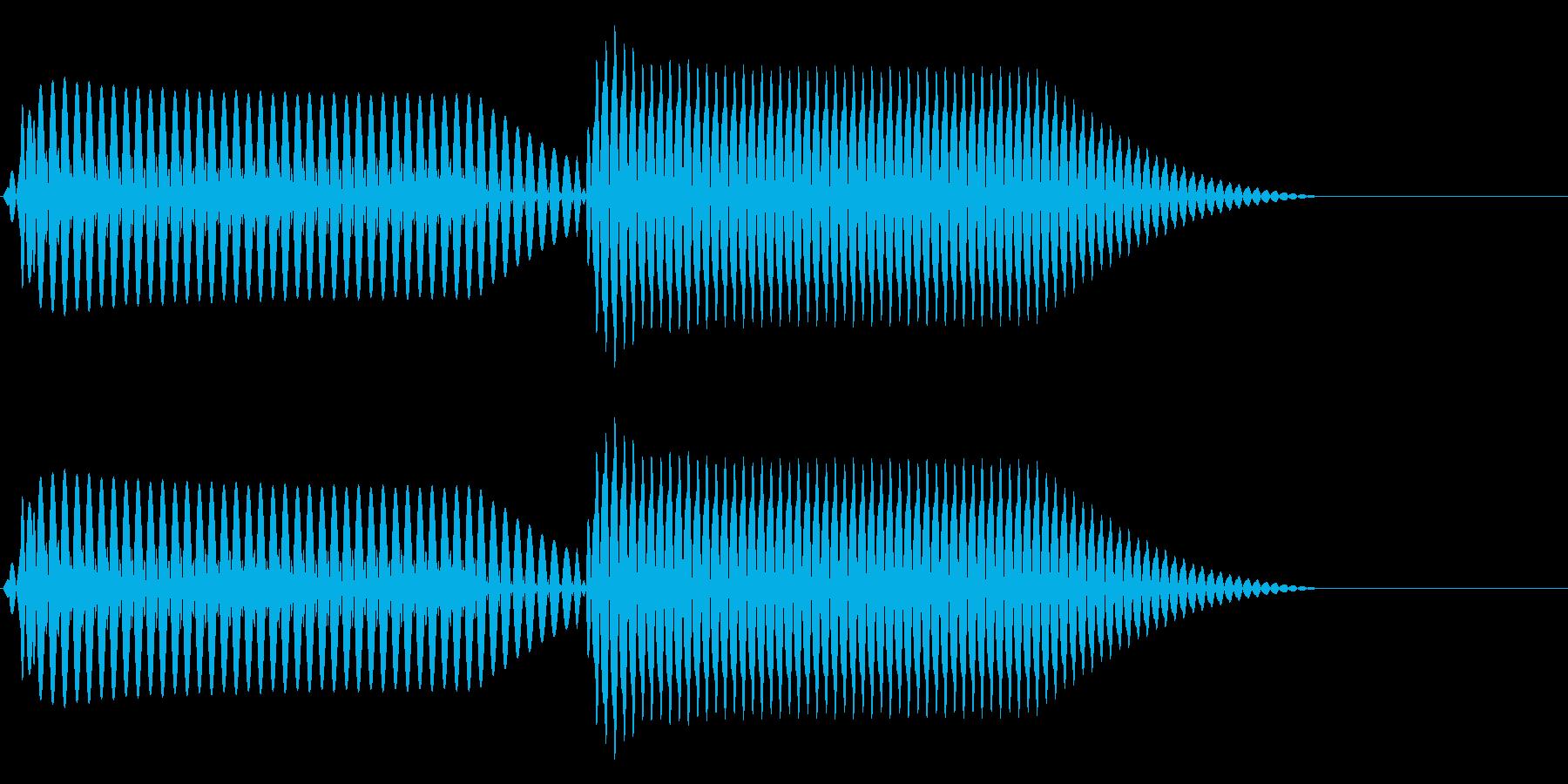 往年のRPG風 コマンド音 シリーズ 3の再生済みの波形