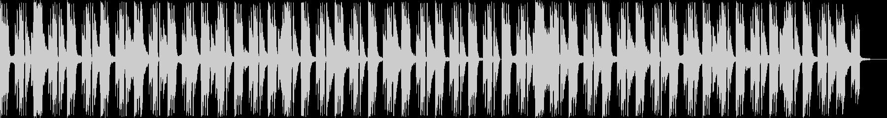ホラー こわいの未再生の波形