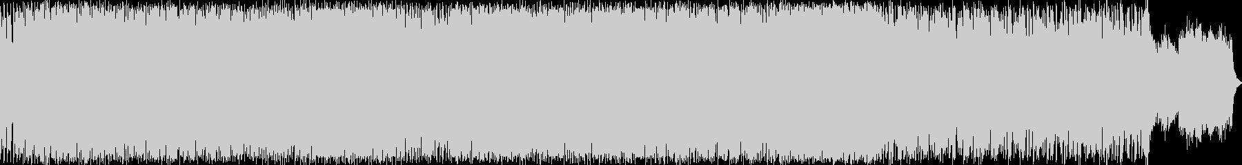 ラテンテイストのピアノインストの未再生の波形