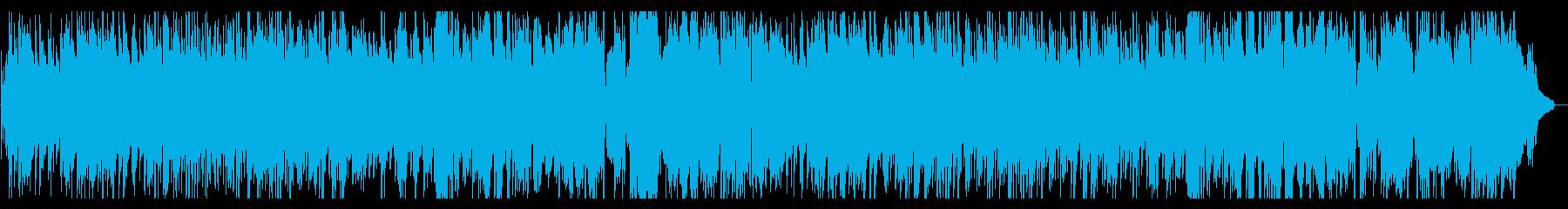 ピアノトリオによる切なくオシャレなジャズの再生済みの波形