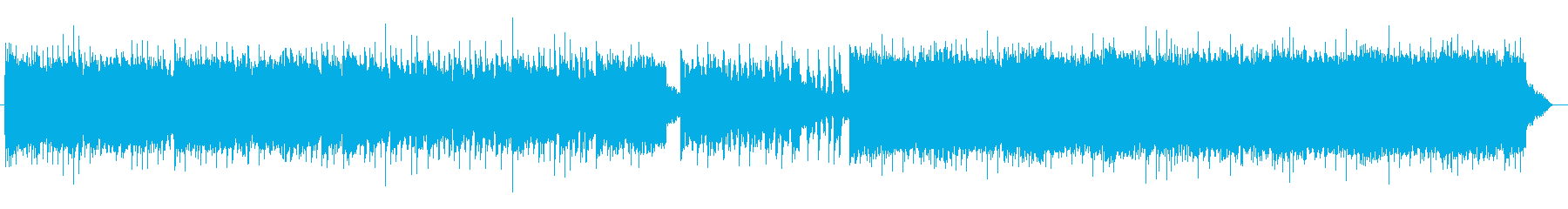【1分ver】歌モノのようなギターロックの再生済みの波形