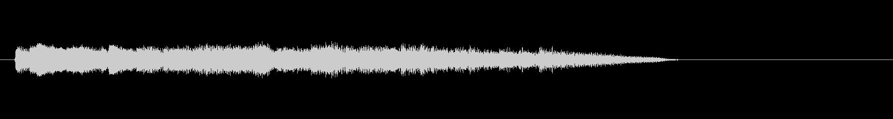 テーマ36:ピアノの未再生の波形