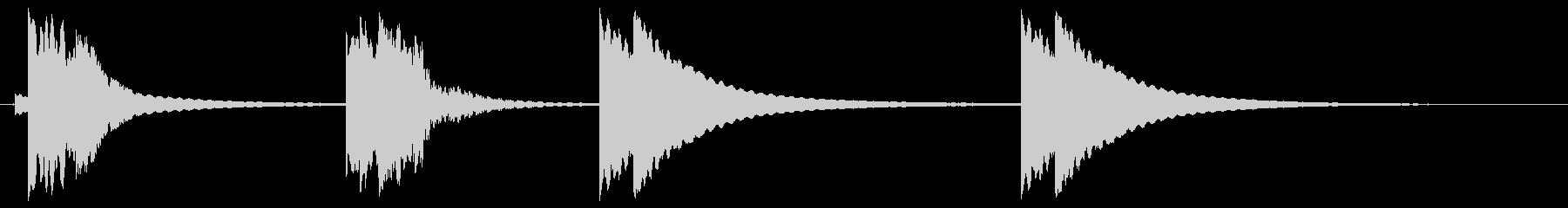 ショップベル;ショップドアリング用...の未再生の波形