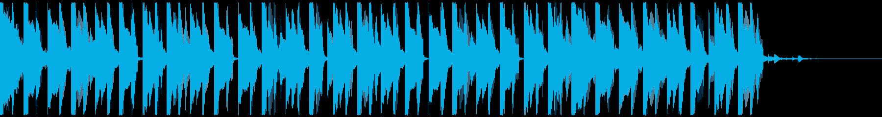 オシャレ・戦闘・スリリングEDM、③の再生済みの波形