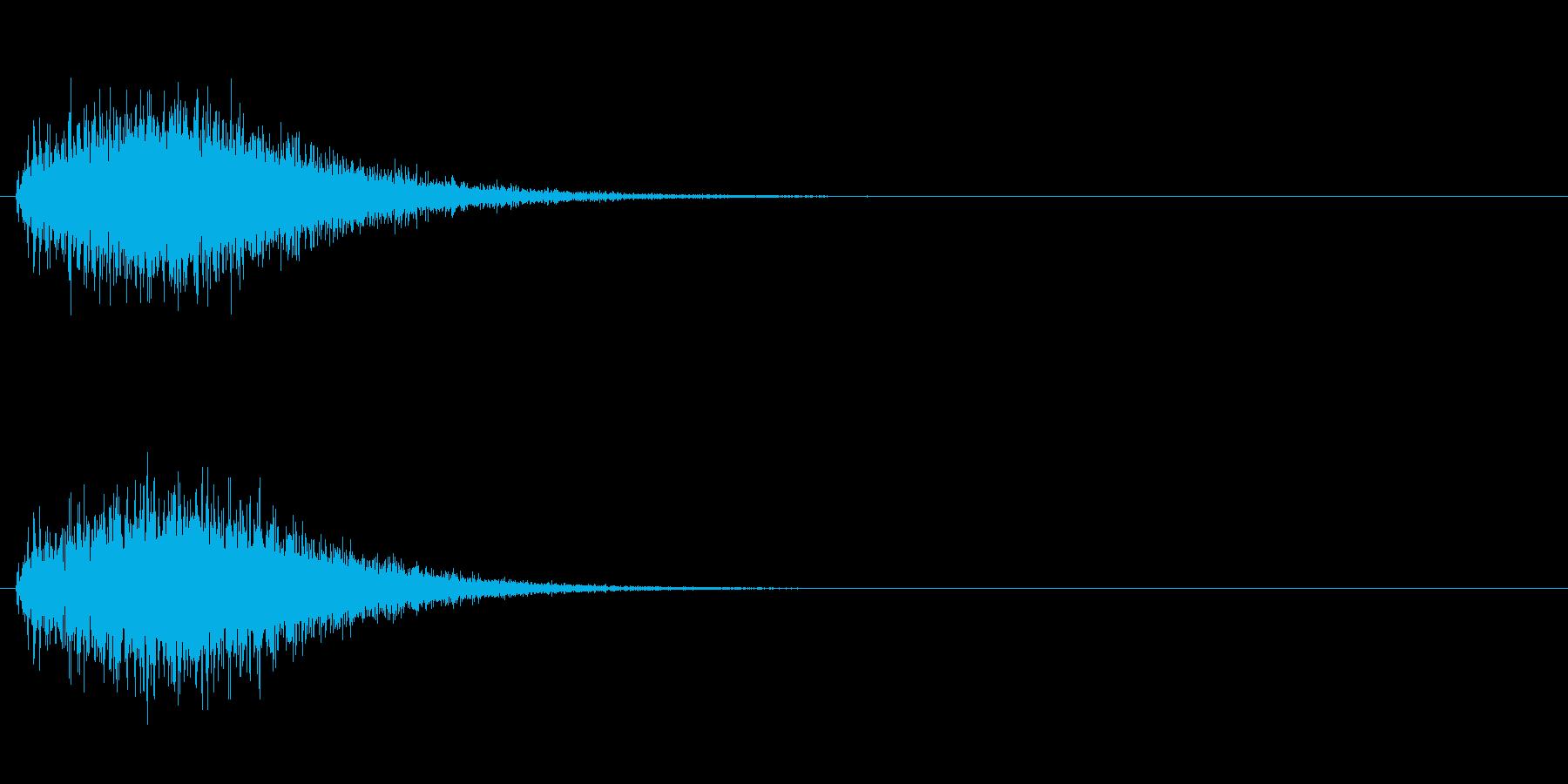 魔法 4の再生済みの波形