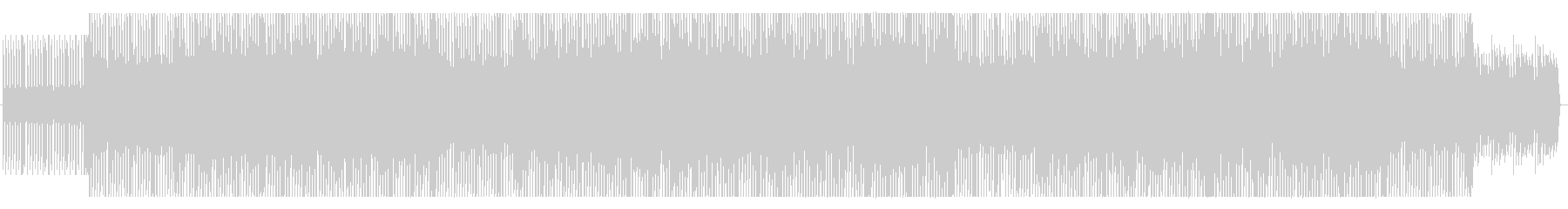 簡単なEDMです。の未再生の波形