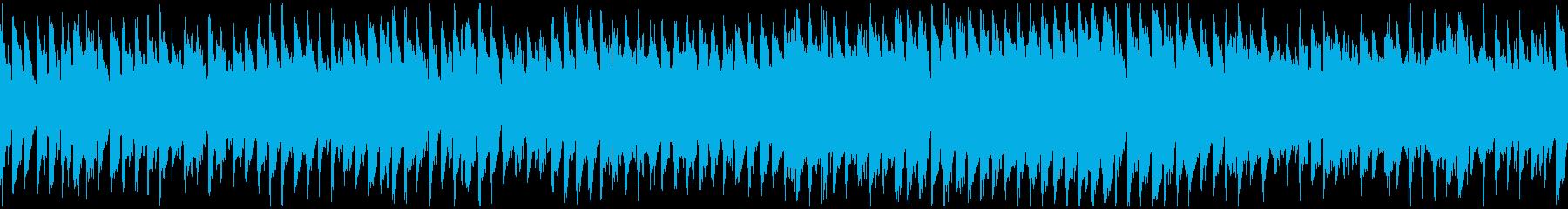 明るいリコーダー・ポップ ※ループ仕様版の再生済みの波形