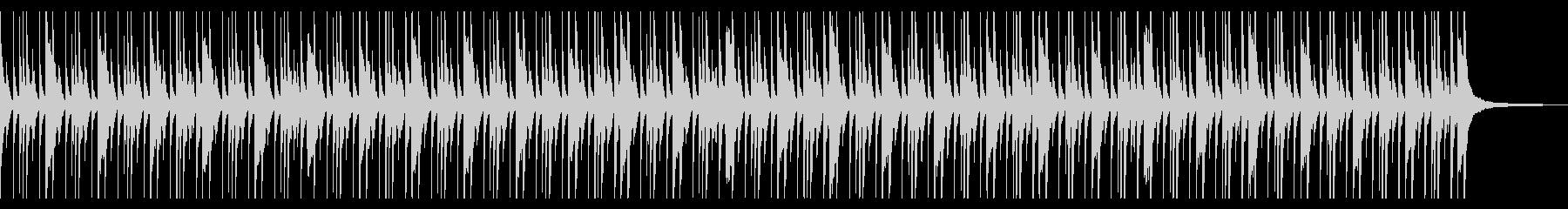 考え中 シュール ソロドラムの未再生の波形