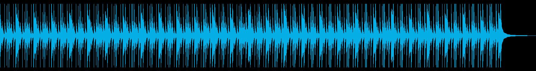 考え中 シュール ソロドラムの再生済みの波形