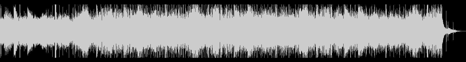 ホラーなシネマティックBGMの未再生の波形