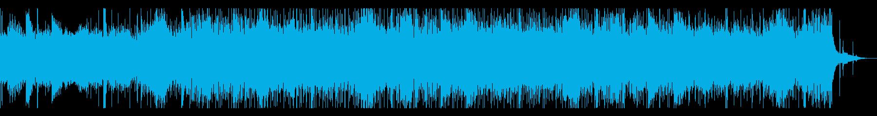 ホラーなシネマティックBGMの再生済みの波形
