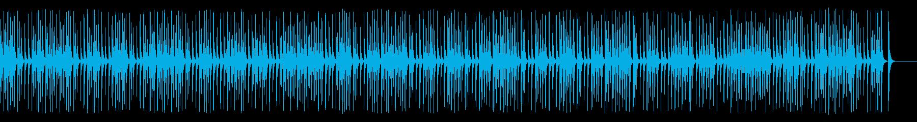 料理や教育教養系動画に合う木琴ジャズの再生済みの波形