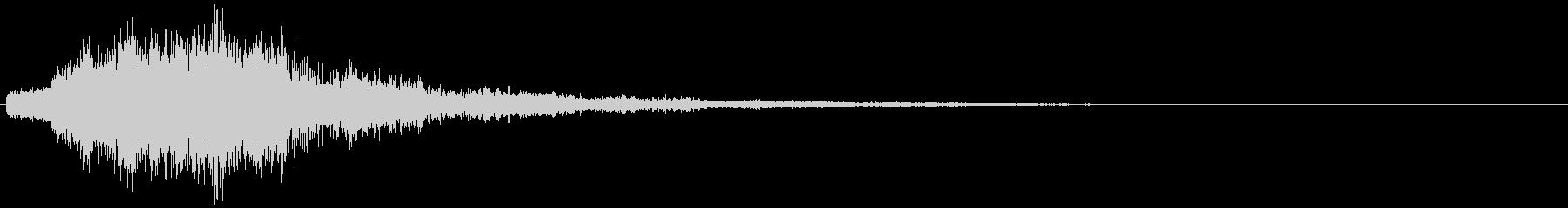 ビシュシュン(撃破・自滅・ゲームオーバ)の未再生の波形